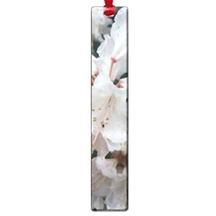 Floral Design White Flowers Photography Large Book Marks by yoursparklingshop