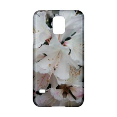Floral Design White Flowers Photography Samsung Galaxy S5 Hardshell Case  by yoursparklingshop