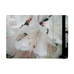 Floral Design White Flowers Photography Ipad Mini 2 Flip Cases by yoursparklingshop