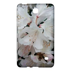 Floral Design White Flowers Photography Samsung Galaxy Tab 4 (8 ) Hardshell Case  by yoursparklingshop