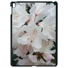 Floral Design White Flowers Photography Apple Ipad Pro 9 7   Black Seamless Case by yoursparklingshop