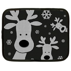 Cute Reindeer  Netbook Case (xxl)  by Valentinaart