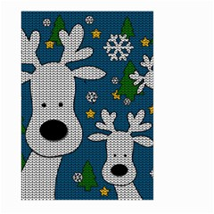 Cute Reindeer  Large Garden Flag (two Sides)