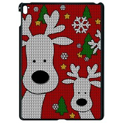 Cute Reindeer  Apple Ipad Pro 9 7   Black Seamless Case