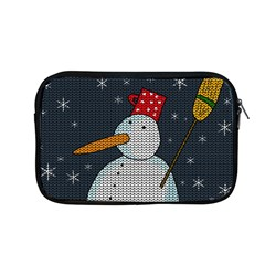 Snowman Apple Macbook Pro 13  Zipper Case by Valentinaart