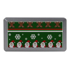 Ugly Christmas Sweater Memory Card Reader (mini) by Valentinaart