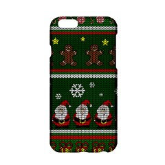 Ugly Christmas Sweater Apple Iphone 6/6s Hardshell Case by Valentinaart