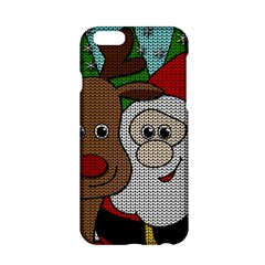 Santa And Rudolph Selfie  Apple Iphone 6/6s Hardshell Case