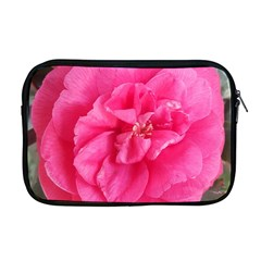Pink Flower Japanese Tea Rose Floral Design Apple Macbook Pro 17  Zipper Case by yoursparklingshop