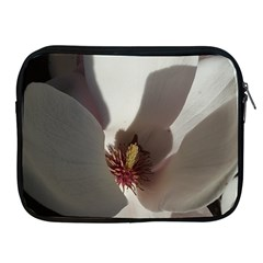Magnolia Floral Flower Pink White Apple Ipad 2/3/4 Zipper Cases by yoursparklingshop