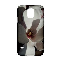 Magnolia Floral Flower Pink White Samsung Galaxy S5 Hardshell Case  by yoursparklingshop