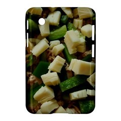 Cheese And Peppers Green Yellow Funny Design Samsung Galaxy Tab 2 (7 ) P3100 Hardshell Case  by yoursparklingshop