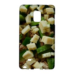 Cheese And Peppers Green Yellow Funny Design Galaxy Note Edge by yoursparklingshop