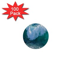 Awesome Wave Ocean Photography 1  Mini Buttons (100 Pack)  by yoursparklingshop