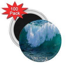 Awesome Wave Ocean Photography 2 25  Magnets (100 Pack)  by yoursparklingshop