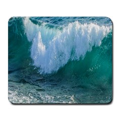 Awesome Wave Ocean Photography Large Mousepads by yoursparklingshop