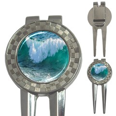 Awesome Wave Ocean Photography 3 In 1 Golf Divots by yoursparklingshop