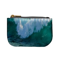 Awesome Wave Ocean Photography Mini Coin Purses by yoursparklingshop