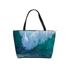 Awesome Wave Ocean Photography Shoulder Handbags by yoursparklingshop