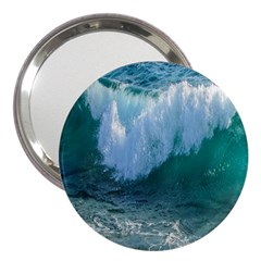 Awesome Wave Ocean Photography 3  Handbag Mirrors by yoursparklingshop