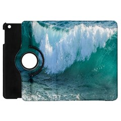Awesome Wave Ocean Photography Apple Ipad Mini Flip 360 Case by yoursparklingshop