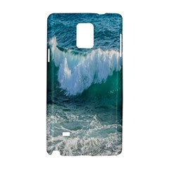 Awesome Wave Ocean Photography Samsung Galaxy Note 4 Hardshell Case by yoursparklingshop