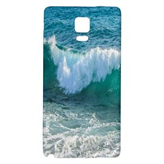 Awesome Wave Ocean Photography Galaxy Note 4 Back Case by yoursparklingshop