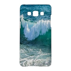 Awesome Wave Ocean Photography Samsung Galaxy A5 Hardshell Case  by yoursparklingshop
