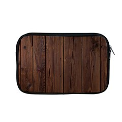 Rustic Dark Brown Wood Wooden Fence Background Elegant Natural Country Style Apple Macbook Pro 13  Zipper Case by yoursparklingshop