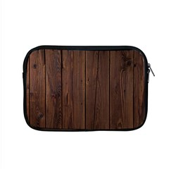 Rustic Dark Brown Wood Wooden Fence Background Elegant Natural Country Style Apple Macbook Pro 15  Zipper Case by yoursparklingshop
