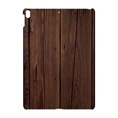 Rustic Dark Brown Wood Wooden Fence Background Elegant Natural Country Style Apple Ipad Pro 10 5   Hardshell Case by yoursparklingshop