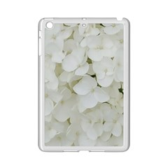 Hydrangea Flowers Blossom White Floral Elegant Bridal Chic Ipad Mini 2 Enamel Coated Cases by yoursparklingshop