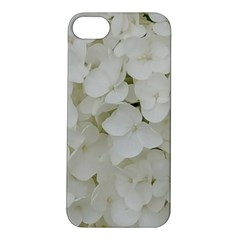 Hydrangea Flowers Blossom White Floral Elegant Bridal Chic Apple Iphone 5s/ Se Hardshell Case by yoursparklingshop
