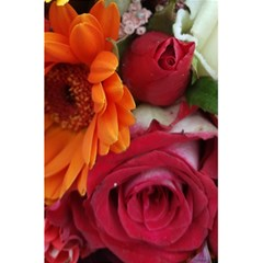 Floral Photography Orange Red Rose Daisy Elegant Flowers Bouquet 5 5  X 8 5  Notebooks by yoursparklingshop