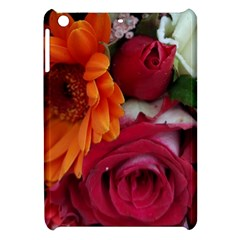 Floral Photography Orange Red Rose Daisy Elegant Flowers Bouquet Apple Ipad Mini Hardshell Case by yoursparklingshop