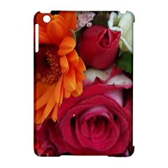 Floral Photography Orange Red Rose Daisy Elegant Flowers Bouquet Apple Ipad Mini Hardshell Case (compatible With Smart Cover) by yoursparklingshop