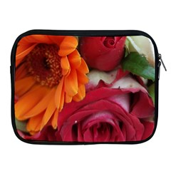 Floral Photography Orange Red Rose Daisy Elegant Flowers Bouquet Apple Ipad 2/3/4 Zipper Cases by yoursparklingshop
