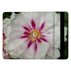 Floral Soft Pink Flower Photography Peony Rose Samsung Galaxy Tab Pro 12 2  Flip Case by yoursparklingshop