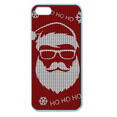 Ugly Christmas Sweater Apple Seamless Iphone 5 Case (color) by Valentinaart