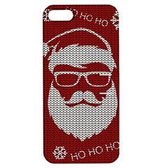 Ugly Christmas Sweater Apple Iphone 5 Hardshell Case With Stand