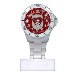 Ugly Christmas Sweater Plastic Nurses Watch by Valentinaart