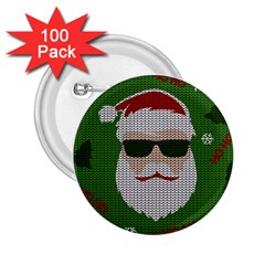 Ugly Christmas Sweater 2 25  Buttons (100 Pack)  by Valentinaart