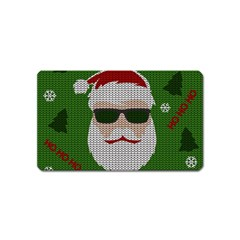 Ugly Christmas Sweater Magnet (name Card) by Valentinaart