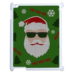 Ugly Christmas Sweater Apple Ipad 2 Case (white)