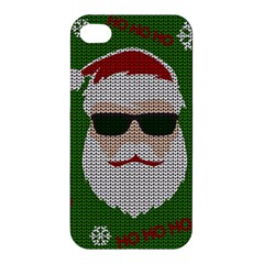 Ugly Christmas Sweater Apple Iphone 4/4s Premium Hardshell Case by Valentinaart