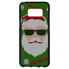 Ugly Christmas Sweater Samsung Galaxy S8 Black Seamless Case by Valentinaart