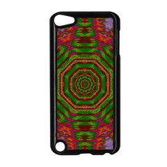 Feathers And Gold In The Sea Breeze For Peace Apple Ipod Touch 5 Case (black) by pepitasart