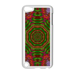 Feathers And Gold In The Sea Breeze For Peace Apple Ipod Touch 5 Case (white) by pepitasart