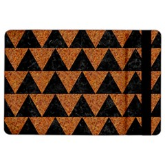 Triangle2 Black Marble & Teal Leather Ipad Air 2 Flip by trendistuff
