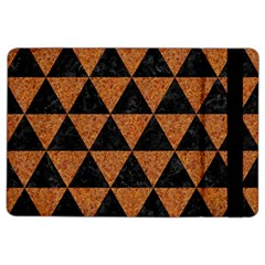 Triangle3 Black Marble & Teal Leather Ipad Air 2 Flip by trendistuff